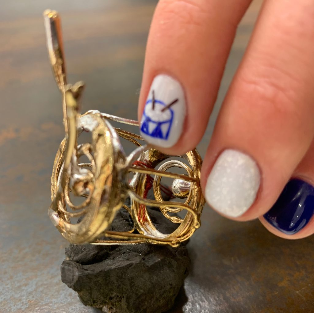Nail art diseño de uñas Eloisa Patat en La Cubana