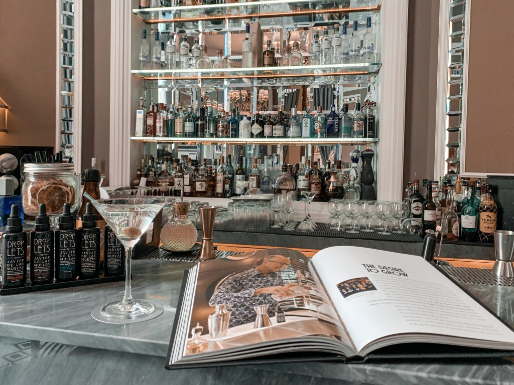 JAvier de las muelas, creador de Dry Martini
