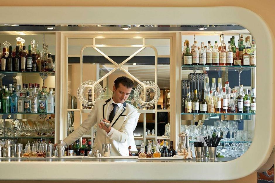 American Bar en el Hotel Savoy de Londres