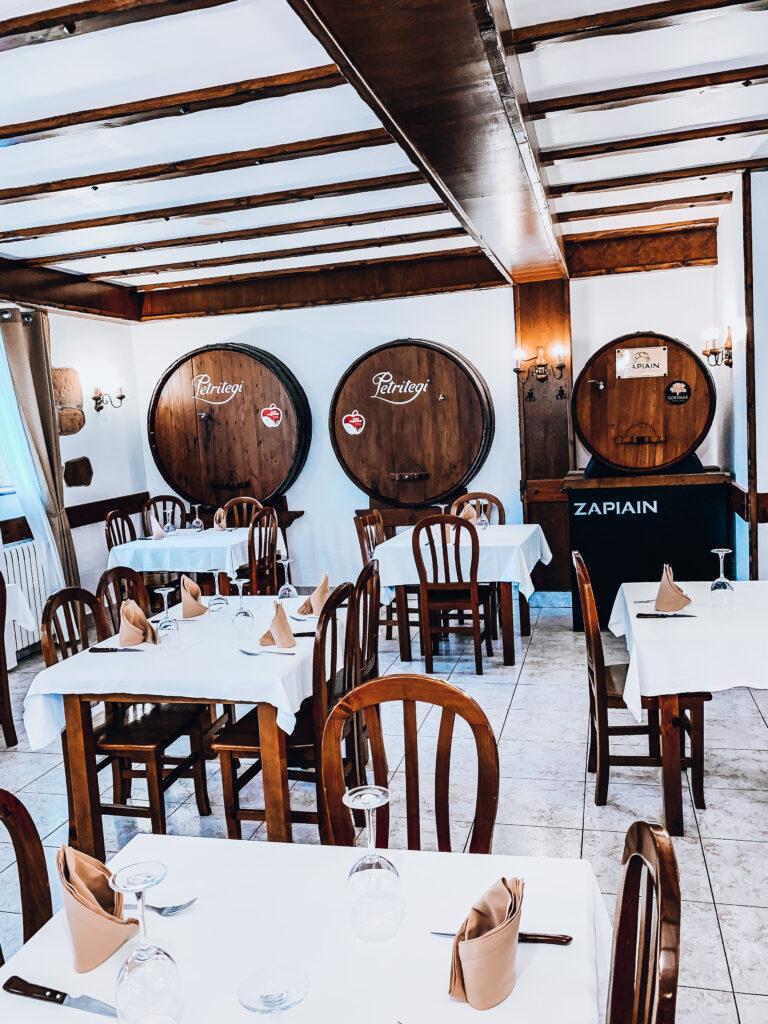restaurante en zarautz