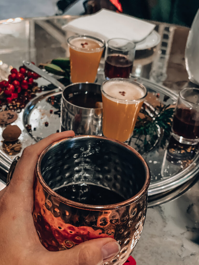 gluhwein bebida de navidad